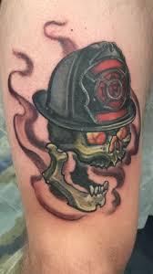 terry fireman skull color skull fireman