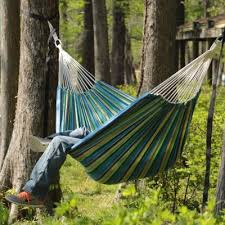 relax in a stylish fabric hammock dfohome