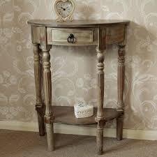 wooden half moon side table furniture windsor browne