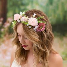 bridal flower david tutera artificial bridal flower crown