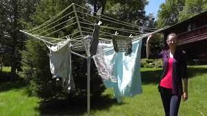 moerman multistage 4 arm rotary clothes dryer youtube