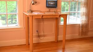 Flat Computer Desk Press Fit Standing Desk Affordable Portable Made In Usa By