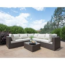 Outdoor Patio Furniture Sectionals Amazon Com Supernova Outdoor Patio 6pc Sectional Furniture