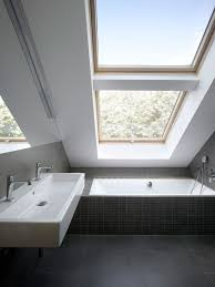 Small Attic Bathroom Sloped Ceiling by Bathroom Modern Small Attic Bathroom Ideas With Slanted Ceiling