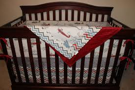 Vintage Aviator Crib Bedding Vintage Airplane Crib Skirt Dbc Baby Bedding Co
