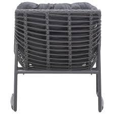 Designer Outdoor Chairs Grey Modern Outdoor Sling Chair Set Of 2 Scenario Home