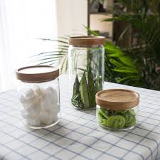 aliexpress com buy japan zakka style glass spice jar kitchen
