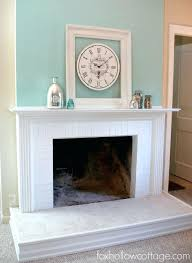 fireplace fantastic fireplace with no mantle home furniture