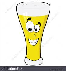 beer cartoon alcoholic beverages happy beer stock illustration i2879230 at