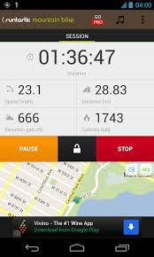 bike app android runtastic mountain bike gps android reviews at android quality index