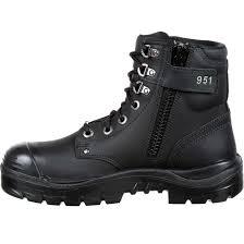 steel toe motorcycle boots steel blue argyle zip bump steel toe side zip work boot st842951