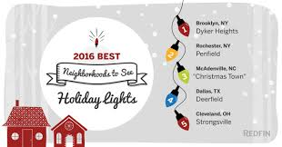 Four Lights Houses Best Neighborhoods To See Holiday Lights In 2016 Redfin