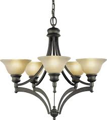 Murry Feiss Lighting Murray Feiss Lighting F1942 Pub Collection Chandelier Transitional