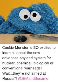 Cookie Monster Meme - cookie monster is so excited to learn all about the new advanced