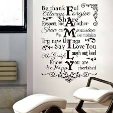 Bob Marley Home Decor Home Decor Sayings Romantic Wording For Bedroom Wall Decal Quote