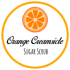 french halloween printables diy orange creamsicle sugar scrub with free printable label
