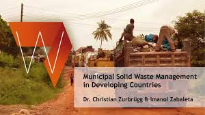 Third World Countries In French Municipal Solid Waste Management In Developing Countries Youtube