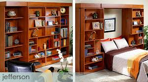 sliding bookcase murphy bed murphy beds folding amp wall beds more space place austin tx sliding