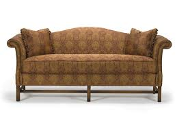 barrymore furniture chippendale camelback sofa