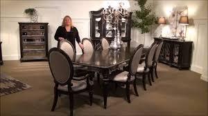 reflexions rectangular leg dining room set by pulaski furniture