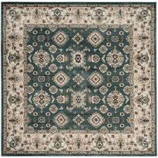 teal square area rugs rugs the home depot