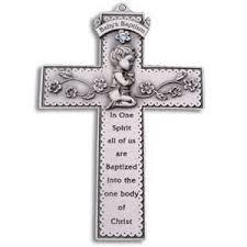 catholic baptism gifts pewter baby baptism gift cross boy 31013