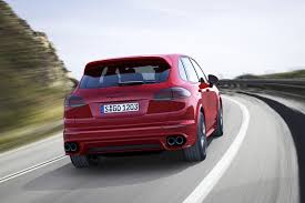 turbo porsche red 2015 porsche cayenne gts downsizes to a twin turbo v6 video