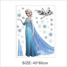 elsa wall decal color the walls of your house elsa wall decal elsa frozen wall sticker bedroom decoration wall decals stickers