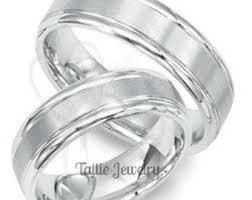 Mens Platinum Wedding Rings by Womens Wedding Ring Etsy