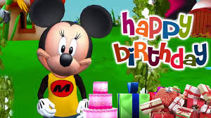mickey mouse birthday song happy birthday song babies kids