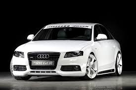 audi a4 tuner rieger tuning audi a4 car tuning