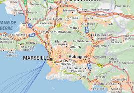 marseilles map map of plan de cuques michelin plan de cuques map viamichelin