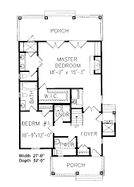 First Floor Master House Plans by Weintraub Narrow Lot Home Plan 056d 0006 House Plans And More