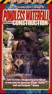 Aquascape Pondless Waterfall Kit Clearance Aquascape Pondless Waterfall Construction
