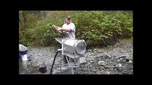 homemade gold trommel design brawn mini trommel promo youtube