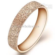 womens titanium wedding bands 2013 fashion titanium wedding ring for women gold plated steel