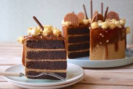 chocolate caramel chicory layer cake anne sophie fashion cooking