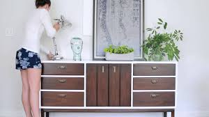 staging a mid century credenza youtube