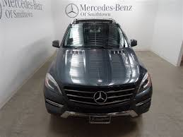 pre owned mercedes m class certified pre owned 2014 mercedes m class ml 350w4 sport