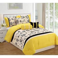 Pale Blue Comforter Set Mustard Yellow Comforter Sets Tags Yellow And Black Comforter