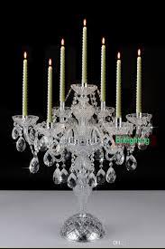 Wedding Chandelier Centerpieces Modern Desk Crystal Candelabra Centerpieces Wedding Glass Arms