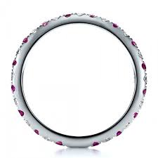 100000 engagement ring pink sapphire eternity band with matching engagement ring 100000