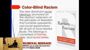 What Is Color Blind Racism Eduardo Bonilla Silva