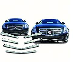 2011 cadillac cts grille amazon com 2008 2011 cadillac cts chrome grille overlay automotive