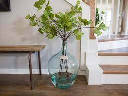 White Foyer Table by Photos Joanna Gaines Hgtv
