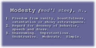 Definition Of Vanity Honestly Modesty A Bookish Charm
