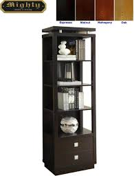 furniture black leaning bookcase black wide leaning bookcase