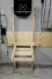 woodwork folding workbench garage pdf plans loversiq