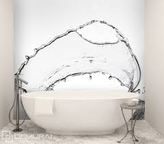 splashing water bathroom wallpaper mural photo wallpapers splashing water bathroom wallpaper mural photo wallpapers demural