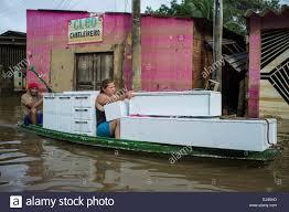Amazon Kitchen Furniture 2015 Flooding In Brazilian Amazon Woman Transports Kitchen Stock